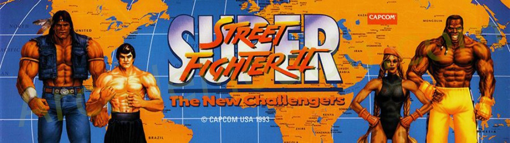 AMU (189) Street Fighter 2 New Challengers