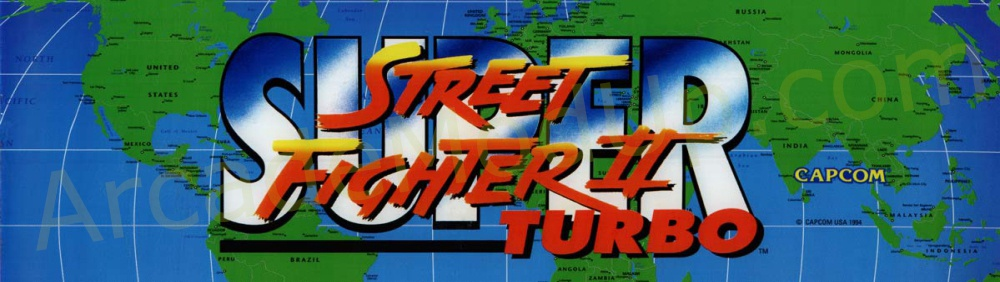AMU (190) Street Fighter 2 Turbo