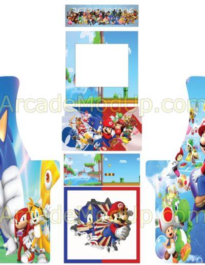 Mario-vs-Sonic
