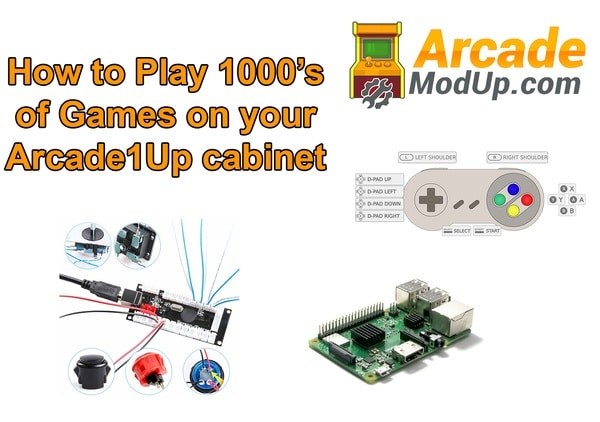 How to Upgrade Your Arcade1up to Play 1000's of Games